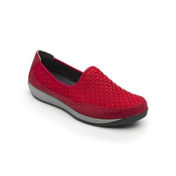Sneaker Flexi Dama 28306 Rojo