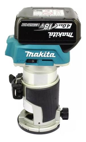 Tupia Makita DRT50RMJX3 sem fio 18V