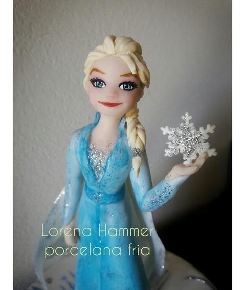 Frozen 2 !! Adorno Torta Porcelana Fria