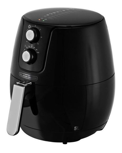 Fritadeira Elétrica S/ Óleo 5 Litros Black And Decker Afm5