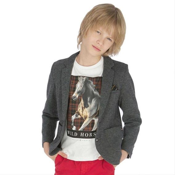 Saco Blazer Mayoral Para Niño 10 A 18