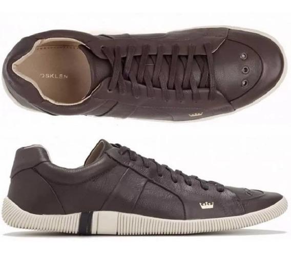 Sapatenis Em Couro Legitimo Sapato Tenis Excelente Qualidade