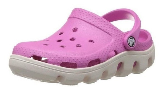 Crocs Duet Sport Party Rosa Mujer Original