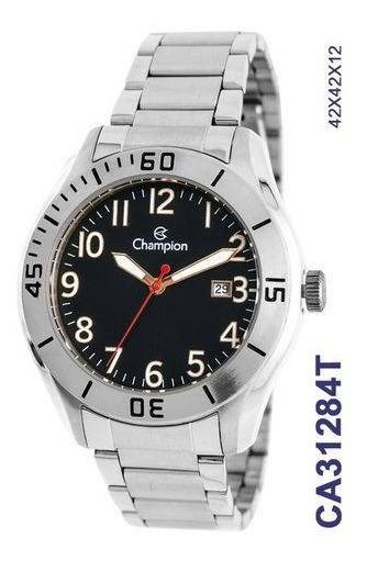 Relógio Champion Prateado Masculino Analógico Ca31284t