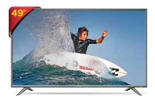 "Smart TV Semp 4K 49"" 49SK6200"