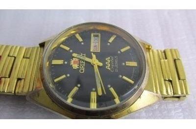 Relógio Orient Aaa Crystal. Raro. Único No Ml. Masculino.