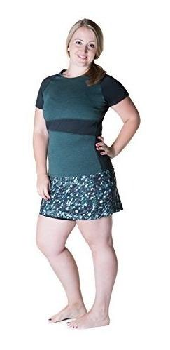 Falda Deportiva Maravilla De La Mujer Lana Camiseta