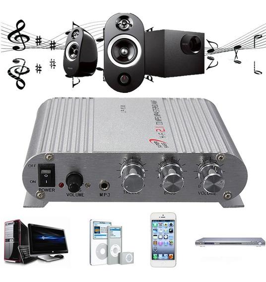 12v 200w Carro Áudio Estéreo Bluetooth Música Amplificado