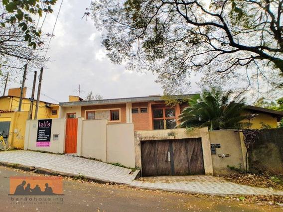 Casa Comercial Locação - Perto Panetteria Di Capri / Estrada Da Rhodia - Ca1730