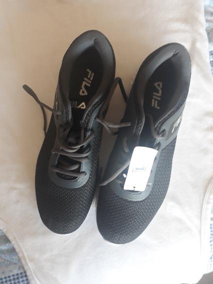 Zapatos Botas Marca Fila Color Gris