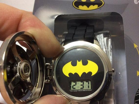 Reloj Batman Spinner Caratula Giratoria