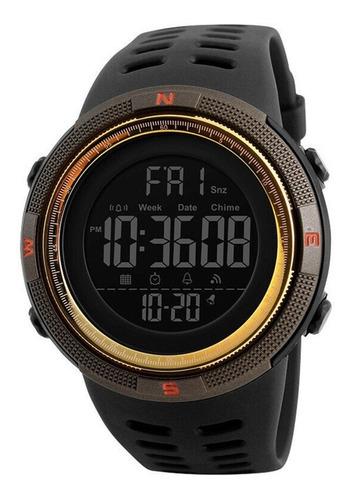 Imagen 1 de 4 de Reloj Skmei 1251 Coffee Deportivo Digital Y Regalo
