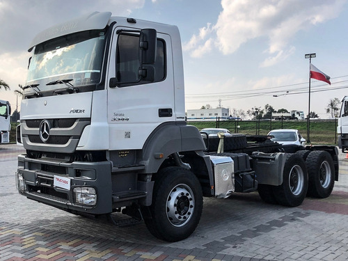 Mb Axor 3344 S 2017 6x4 Canavieiro Scania Mercedes Volvo
