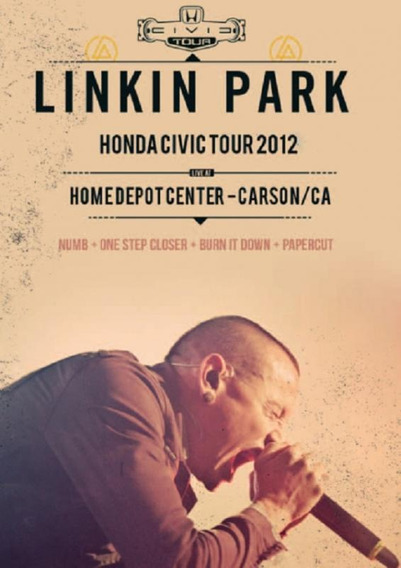 Linkin Park Honda Civic Tour 2012 Dvd Rock