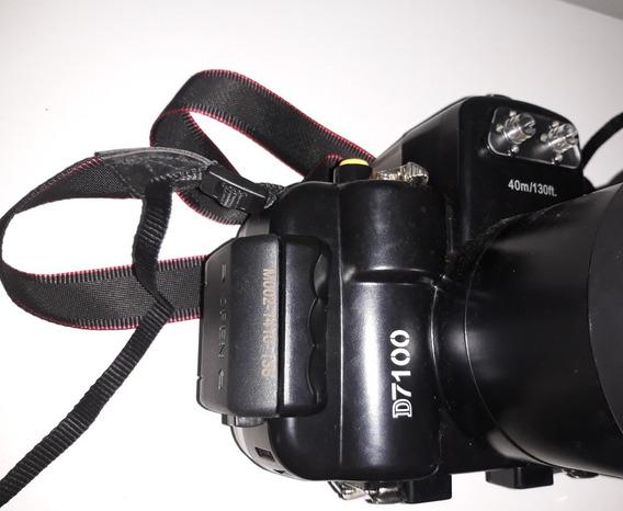 Case Câmera Nikon D7100 Subaquática 40m Para Lentes 18-55mm