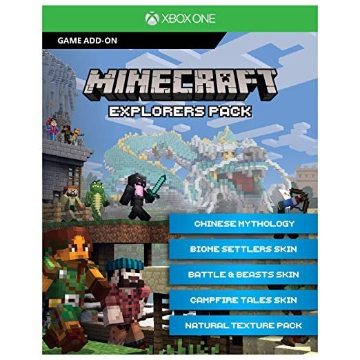 Complemento De Jogo Minecraft Explore Packs Xbox Digital 25