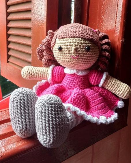 Boneca De Crochê, Amigurumis, Brinquedo, Artesanato.