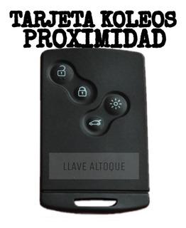 Copia Tarjeta Proximidad Renault Koleos En El Acto Sin Turno