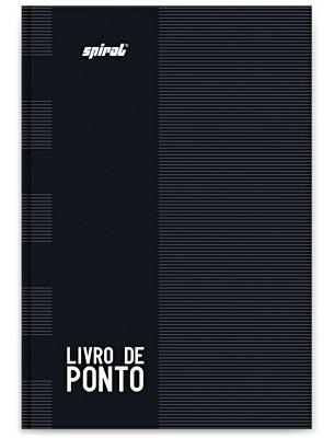 Imagem 1 de 5 de 3 Livro De Ponto 1/4 160 Folhas
