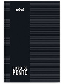 3 Livro De Ponto 1/4 160 Folhas