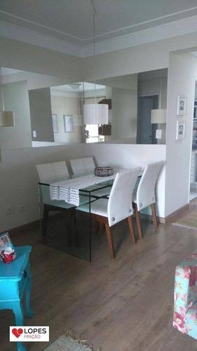 Imagem 1 de 9 de Apartamento Com 3 Dormitórios À Venda, 70 M² Por R$ 561.000,00 - Alto Da Mooca - São Paulo/sp - Ap1235