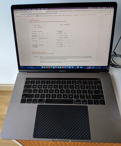 Macbook Pro (15 Polegadas 2016), 2.9 Ghz Intel Core I7, 16gb