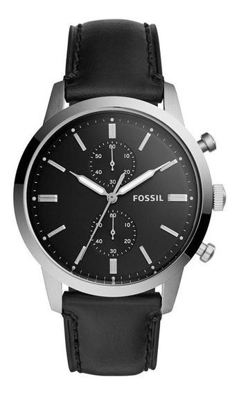 Relógio Fossil Masculino Casual Townsman Preto - Fs5396/0pn