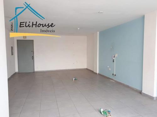 Eli House Imóveis - Sala Comercial Para Locação - 50m² - Centro De Santo André - Creci 26326-j - Sa00067 - 32943489