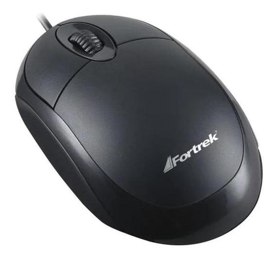 Mouse Usb Fortrek Oml-101bk 800dpi Preto