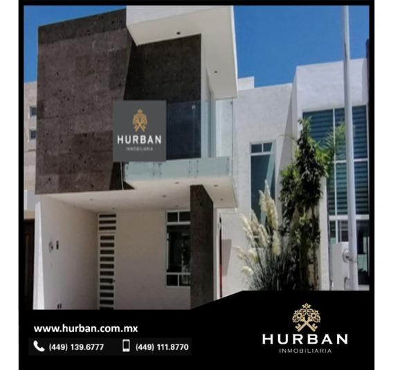 Hurban Vende Casa Nueva, Lista Para Estrenar En Ags. Al Nor Pte. En Loretta 2.