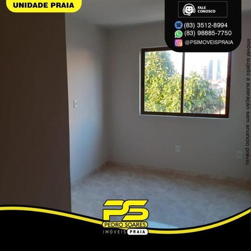 Apartamento Com 3 Dormitórios À Venda, 72 M² Por R$ 350.000 - Manaíra - João Pessoa/pb - Ap4653