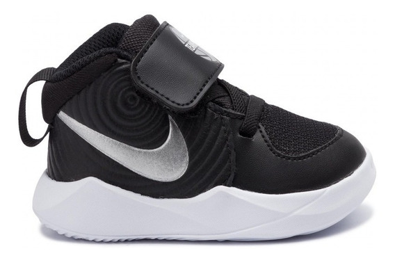 Tenis Nike Niños Bebe Team Hustle D 9 Originals Liavianos Super Comfort Media Bota Nueva Edicion Sin Agujeta Original