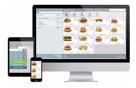 Sistema Pdv Pizzaria Bares Restaurante Lanchonete Php Script