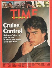 Tom Cruise - Revista Time 1989