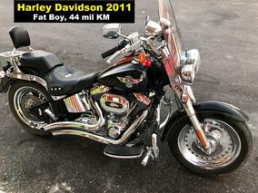 Harley Davidson Fatboy 2011, Hermosisima E Impecable $184000