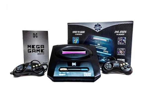 Vídeo Game Retrô Mega Game 123 Jogos 2 Controles 246 Versões