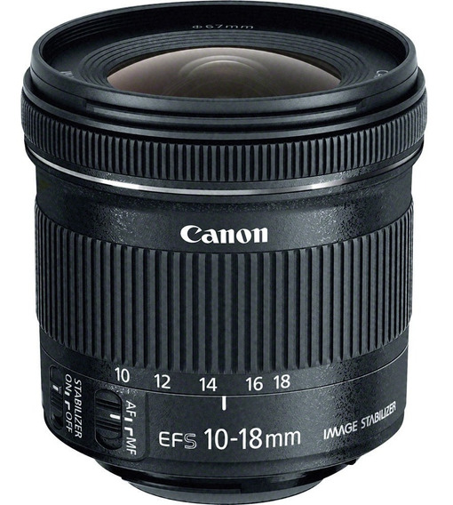 Canon Ef-s 10-18mm F / 4.5-5.6 Is Lente Stm