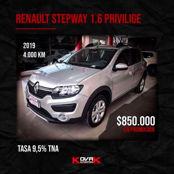 Renault Sandero Stepway 1.6 Privilege 105cv Nac 2019