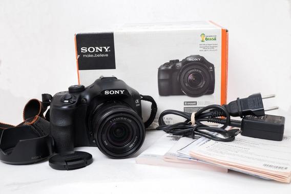 Câmera Sony Alpha Ilce A3000 Com Lente 18-55mm