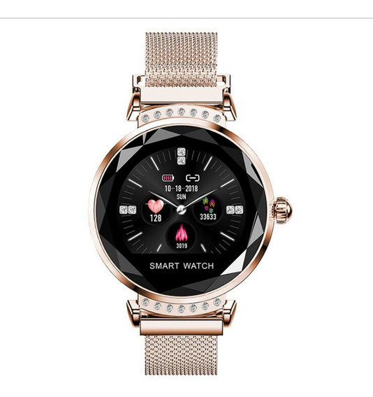 Relógio Feminino Elegante Com Pulseira De Relógio Magnéti