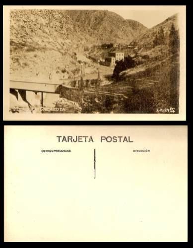 Postal De Cacheuta Mendoza Argentina Nueva