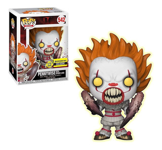 Funko Pop It Pennywise Spider Legs Glow In The Dark Exclusiv