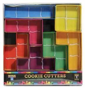 Moldes Para Galletas De Piezas De Tetris Producto Oficial