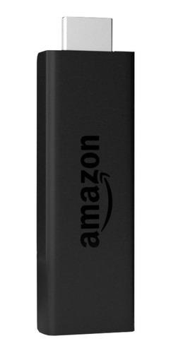 Amazon Fire TV Stick 2nd Generation  de voz Full HD 8GB  preto com 1GB de memória RAM