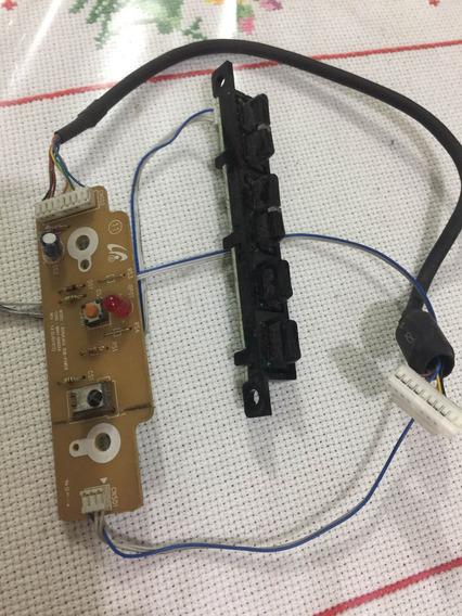 Sensor E Teclado Com Cabo Tv Samsung Ln32r71bax