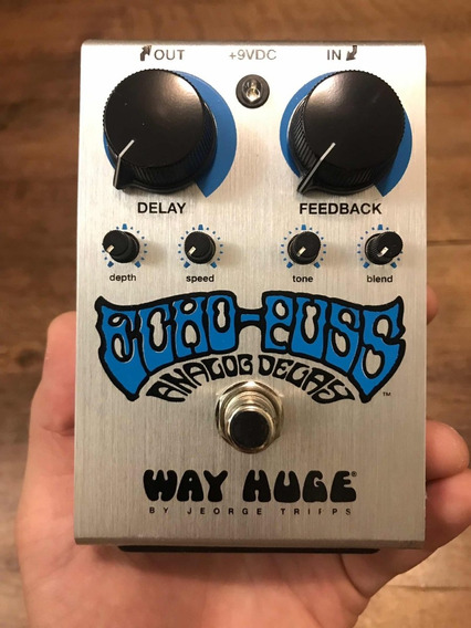 Way Huge Echo Puss Pedal De Delay Analógico