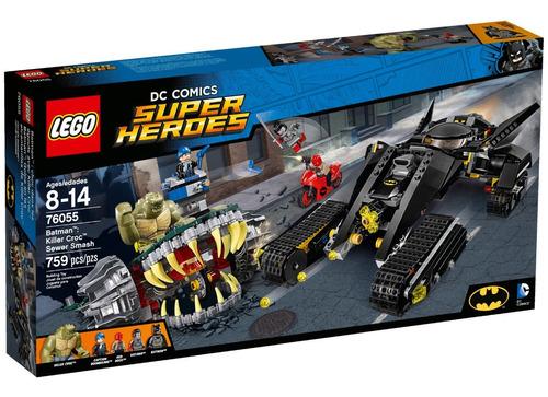 Lego Batman Legos Golpe En Alcantarillas Killer Croc 76055