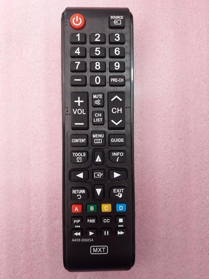 Controle Remoto Tv Led Lcd Samsung 24 32 37 40 42 48 55 Pol