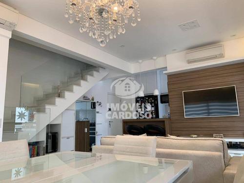 Cobertura Com 2 Dormitórios À Venda, 107 M² - Alto Da Boa Vista - São Paulo/sp - Co0742