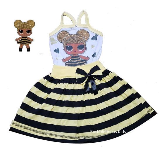Vestido Infantil Temático Fab4